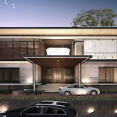 House at Gegerkalong, Bandung, Indonesia:  Rumah tinggal  by Studio Avana