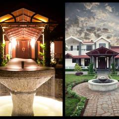 Vijay's Residence:  Garden by Myriadhues