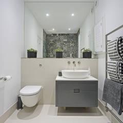 Edwardian meets contemporary; Teddington Family Home:  Bathroom by PAD ARCHITECTS