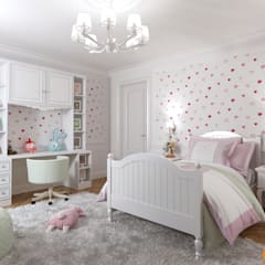 Kamar tidur anak perempuan by Art-i-Chok