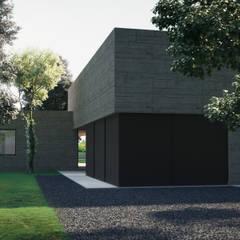 ประตูโรงรถ by ASVS Arquitectos Associados