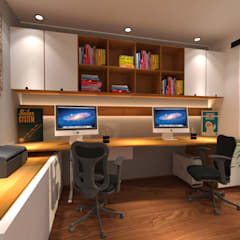 Study/office by Decoratespace,