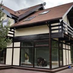 Дом по фахверковой тохнологии: Деревянные дома в . Автор – РусБрус