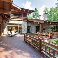 Casas de campo de estilo  por РусБрус
