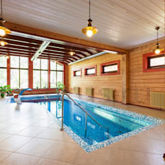 Scandinavian style pool by РусБрус Scandinavian Wood Wood effect