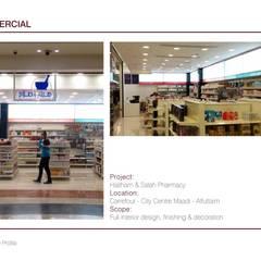 Carrefour City Center Maadi:  محلات تجارية تنفيذ Tebmar