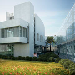 Rehabilitation Center Garden View :  Hospitals by SPACES Architects Planners Engineers