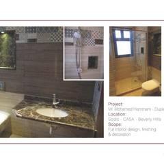 Sodic, Casa, Beverly Hills:  حمام تنفيذ Tebmar, حداثي
