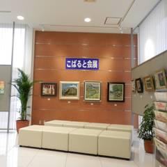 ウェイティングスペース: 株式会社アトリエKCが手掛けたオフィススペース&店です。