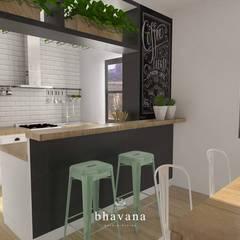 Cocinas de estilo  por Bhavana,