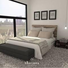 Obra El Sausalito - Diseño Integral Casa Country: Dormitorios de estilo  por Bhavana