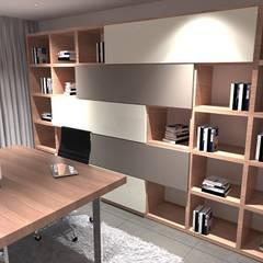 Moradia Moderna: Escritórios e Espaços de trabalho  por CB | Interior Design