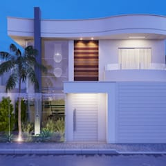 منزل عائلي صغير تنفيذ Camila Pimenta | Arquitetura + Interiores