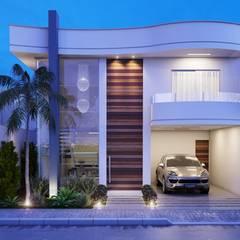 CASA I : Casas minimalistas por Camila Pimenta | Arquitetura + Interiores