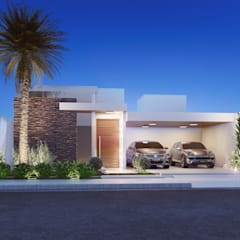 บ้านเดี่ยว โดย Camila Pimenta | Arquitetura + Interiores, โมเดิร์น ไม้ Wood effect