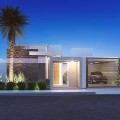 บ้านเดี่ยว โดย Camila Pimenta | Arquitetura + Interiores, โมเดิร์น
