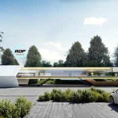 Render DF   Realidad Virtual para Arquitectura: Centros de exhibiciones de estilo  por Render DF