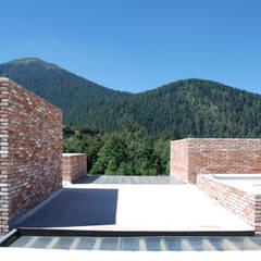 Projekty,  Dach płaski zaprojektowane przez AWA arquitectos