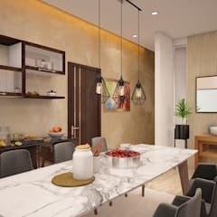 Dining room by homify, Modern