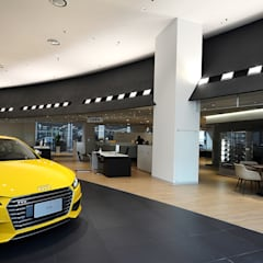 Car Dealerships by G.T. DESIGN 大楨室內裝修有限公司