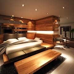 FN Megaland, Pematangsiantar City:  Kamar Tidur by Lighthouse Architect Indonesia