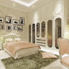 A.K. House, Taman Anggrek. Medan City: Kamar Tidur oleh Lighthouse Architect Indonesia, Klasik