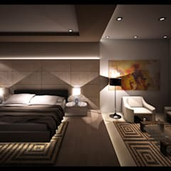 ONG, Platinum Garden. Medan City:  Kamar Tidur by Lighthouse Architect Indonesia