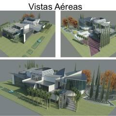 VIVIENDA UNIFAMILIAR DE LUJO: Casas de estilo  por ESTUDIO KULUMAK