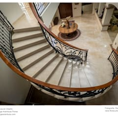 Stairs by Excelencia en Diseño, Colonial Marble
