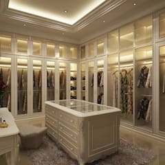 classic Dressing room by Lighthouse Architect Indonesia