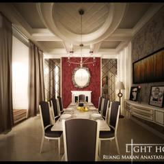 A Classic, Citra Garden. Medan City: Ruang Makan oleh Lighthouse Architect Indonesia,