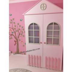 MOBİLYADA MODA  – Montessori Çocuk Odasi, Ela'nın Odasi :  tarz Kız çocuk yatak odası