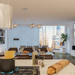 Diseño de Interior: Cocinas.: Cocinas de estilo escandinavo por Mexikan Curious