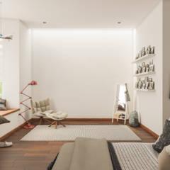Dormitorios de estilo  por Mexikan Curious