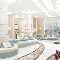 Dream interior from Katrina Antonovich:  Corridor & hallway by Luxury Antonovich Design