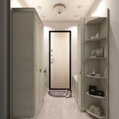 Квартира в стиле Прованс в Москве: Коридор и прихожая в . Автор – Студия интерьера 'IDEAL DESIGN'