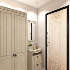 Corridor, hallway by Студия интерьера 'IDEAL DESIGN'