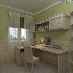 Квартира в стиле Прованс в Москве: Детские комнаты в . Автор – Студия интерьера 'IDEAL DESIGN'