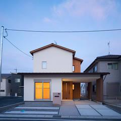 大津市・O様邸: 株式会社アーキトラストが手掛けた一戸建て住宅です。