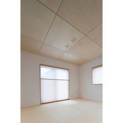 大津市・O様邸: 株式会社アーキトラストが手掛けた和室です。,北欧