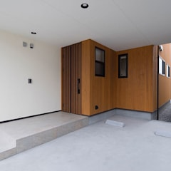 scandinavische Garage/schuur door 株式会社アーキトラスト