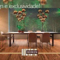 Palacios de congresos de estilo  por BERKEN PISOS