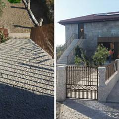 منزل عائلي صغير تنفيذ Em Paralelo  , ريفي