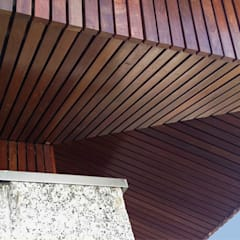 Hipped roof by Em Paralelo ,
