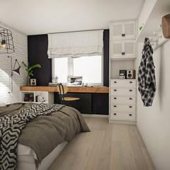 Dormitorios de estilo  por Studio Archemia