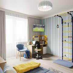 غرفة نوم أولاد تنفيذ Елена Марченко (Киев)