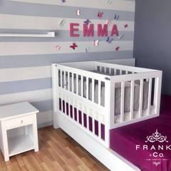 """Estudio Franko & Co. Proyecto """"Butterflies"""": Recámaras para bebés de estilo  por Franko & Co."""