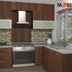 MOBILIYA RENDERS DE PROYECTOS: Muebles de cocinas de estilo  por Mobiliya