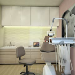 Dental Room 1:  Clinics by DW Interiors
