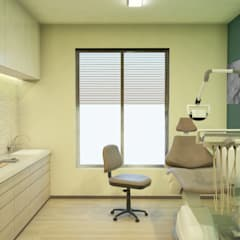 Dental Room 2:  Clinics by DW Interiors